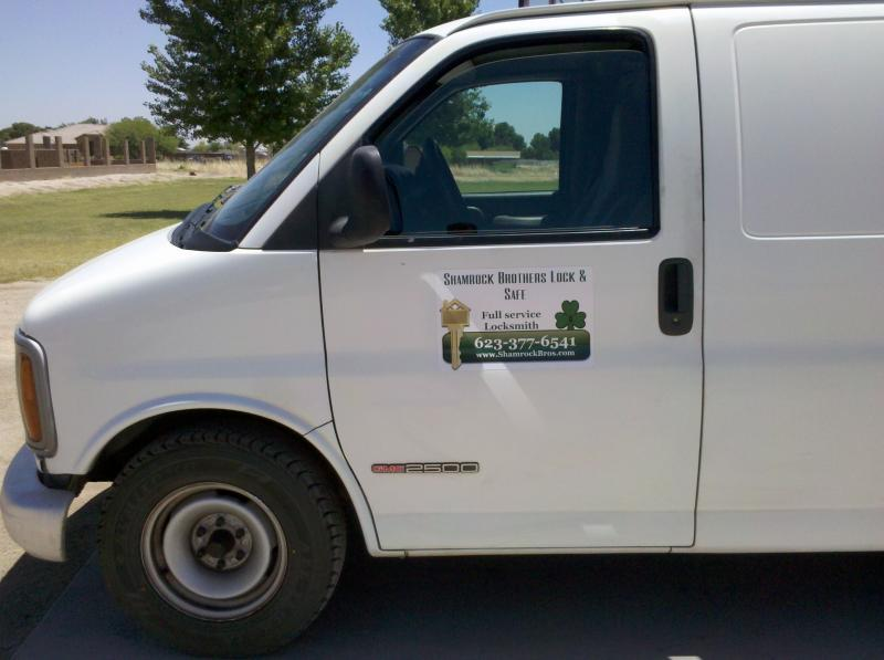 Locksmith van full service goodyear avondale buckeye az arizona